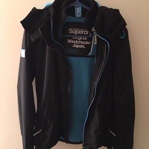 Superdry jacket practically new